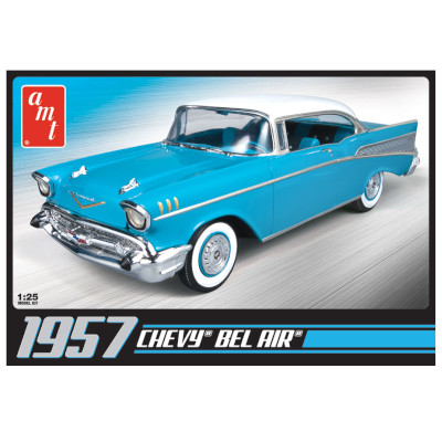 383055-AMT 1957 Chevy Bel Air 1:25 Scale Model (AMT638M)