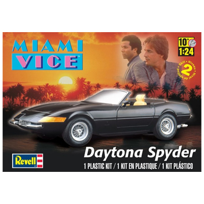 383057-1972 Miami Vice Daytona Spider Model Kit