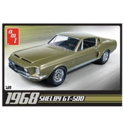 383229-AMT 1968 Shelby GT 500 1:25 Scale Model (AMT634M)