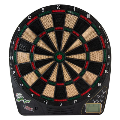 505008-Shot Wild Card Electronic Dartboard Set