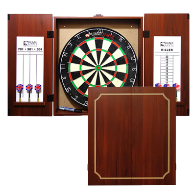 Delicieux 510054 The Stadium Dartboard Cabinet Set By PUMA