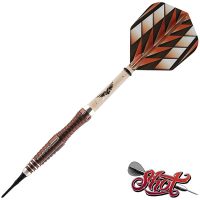 525110-Shot Tribal Weapon Series 1   2 Soft Tip Darts