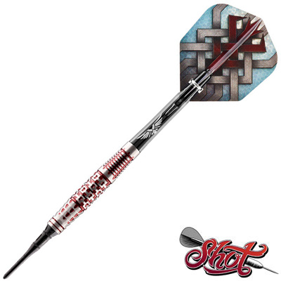 525690-Shot Viking Berserker 90% Tungsten Soft Tip Dart Set