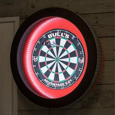 f g bradley s dart board cabinets termote led dartboard