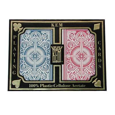 kem poker cards jumbo index