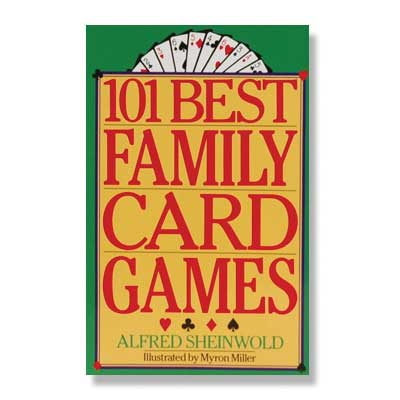 620101-101 Family Card Games Book by Alfred Sheinwold and Myron Miller