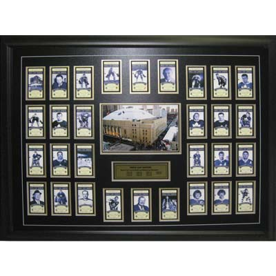 64-520-Maple Leaf Gardens Last Year - Ticket Set Deluxe Framed