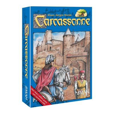 700041-Carcassonne Board Game