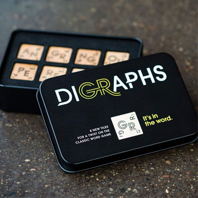 700390-Digraphs: Scrabble Board Game Add-On