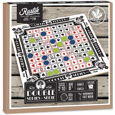 700846-Double Series Board Game by Rustik
