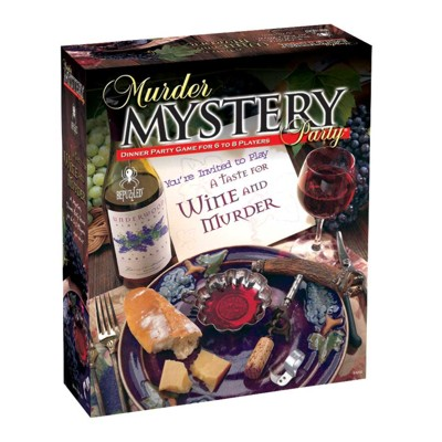 701621-A Taste for Wine   Murder Murder Mystery Party