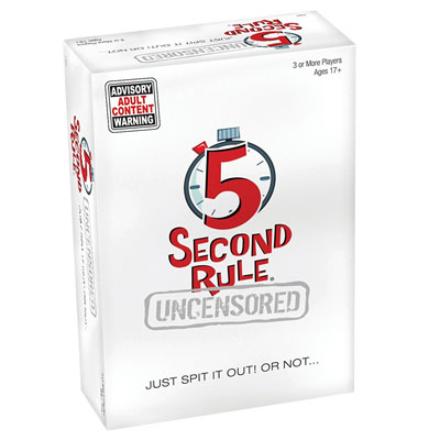 709000-5 Second Rule Uncensored Party Game