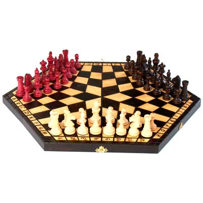710110-3 Player Chess Set