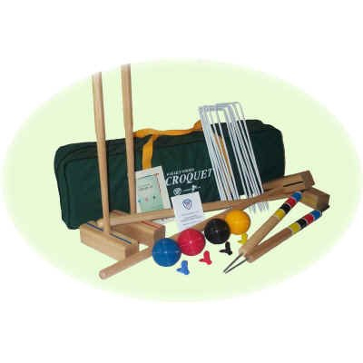 740199-Oakley Woods 6 Player Sport Croquet Set
