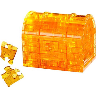 760085-Clearly Puzzled 3D Treasure Chest Puzzler