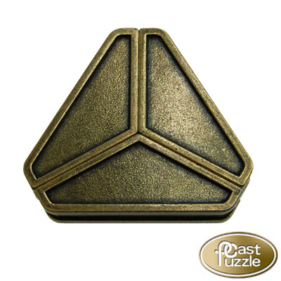 760182-Hanayama Cast Iron Puzzler ''Delta'' Level 3