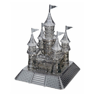 760219-Deluxe 3D Crystal Puzzles - Black Castle