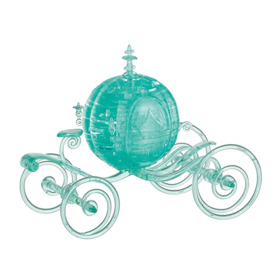 760223-Deluxe 3D Crystal Puzzles - Cinderella Carriage