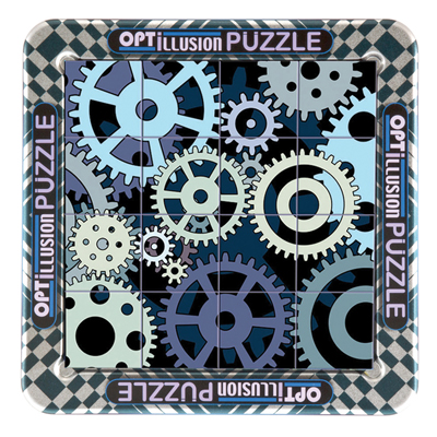 760433-3D Magna Puzzle - Gears