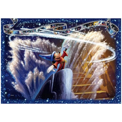 770150-Disney Fantasia Collector's Edition 1000 Piece Jigsaw Puzzle