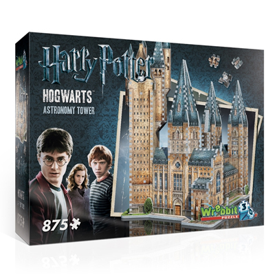 770192-Wrebbit Harry Potter Hogwarts Astronomy Tower 875 Pc 3D Puzzle
