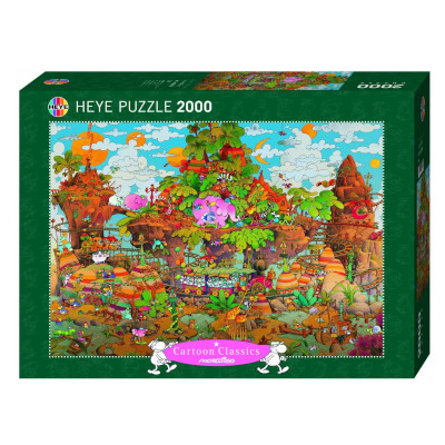 770383-Heye Mordillo: Train - 2000 pc Puzzle (29360)
