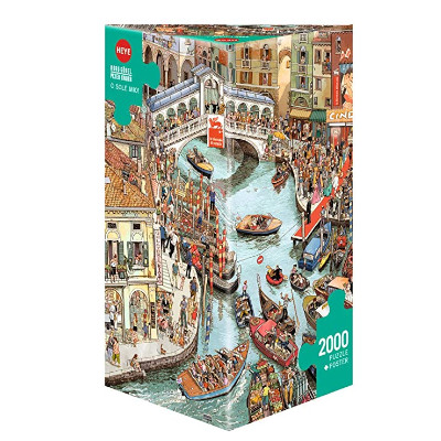 770413-Heye Gobel and Knorr O Sole Mio! - 2000 Pc Puzzle