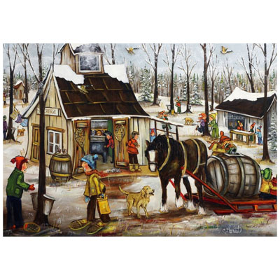 770908-Canadian Artist Collection from Trefl - Sugar Shack by Christine Genest