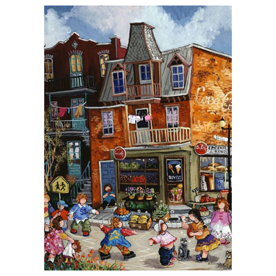 770909-Canadian Artist Collection from Trefl - Rideau Grocery Store by Pauline Paquin