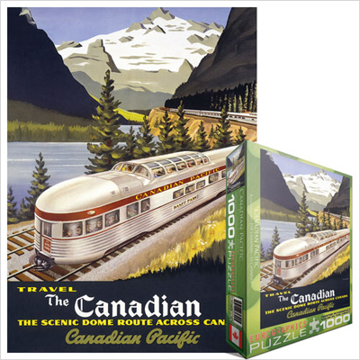 771733-Eurographics Vintage Canadian Art: The Canadian, by Roger Cuillard - 1000 piece puzzle