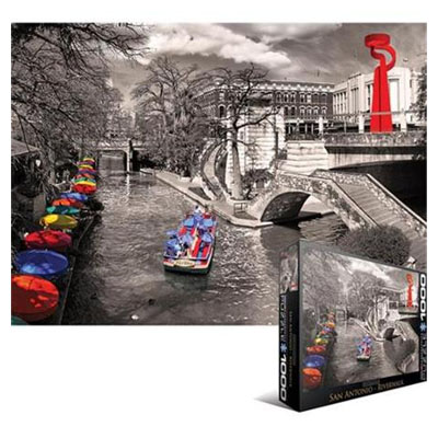 771840-Eurographics City Collection: San Antonio Riverwalk - 1000 pc Puzzle