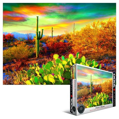 771852-Eurographics HDR Collection: Desert Dreams - 1000 Piece Puzzle