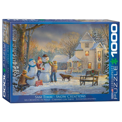 771855-EuroGraphics Snow Creation 1000 Pc Puzzle (6000-0607)