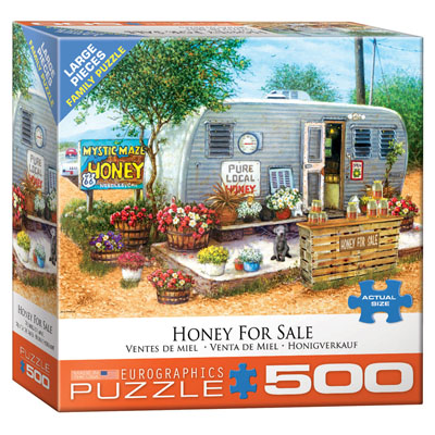 771865-Eurographics Honey For Sale 500 Large Piece Puzzle