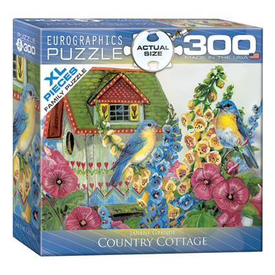 771867-Eurographics Country Cottage 300 Piece Puzzle -8300-0603