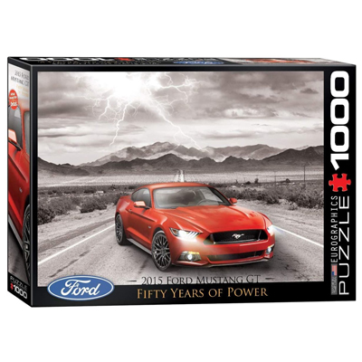 771875-EuroGraphics Ford Mustang GT 1000 Pc Puzzle (6000-0702)