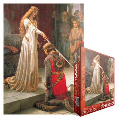 771884-Eurographics Fine Art: The Accolade, by E.B. Leighton - 1000 Piece Puzzle