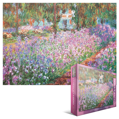 771887-Eurographics Fine Art: The Artist's Garden, by Claude Monet - 1000-Piece Puzzle
