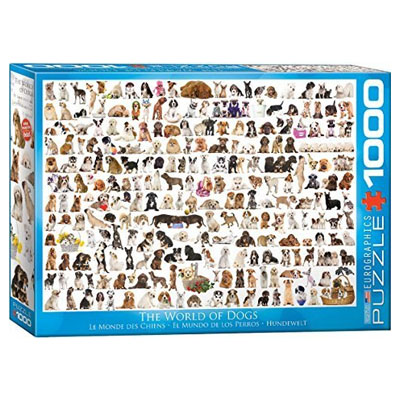 771919-Eurographics World of Dogs 1000-Piece Puzzle