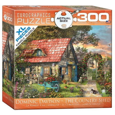 771951-EuroGraphics Country Shed 300 XL Pc Puzzle (8300-0971)