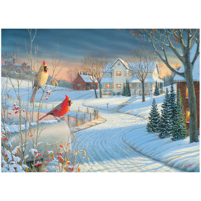 771962-Eurographics Artists Series: Country Cardinals, by Sam Timm - 1000 PC Puzzle