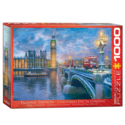 771989-Eurographics Christmas Eve in London 1000 Pc Puzzle (6000-0916)