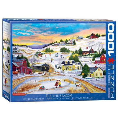 771998-Eurographics Tis The Season 1000 Pc Puzzle (6000-5334)
