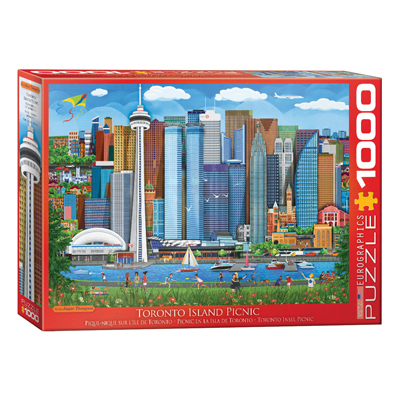 772103-Eurographics Artist Series: Toronto Island Picnic, by Thompson - 1000 Piece Puzzle