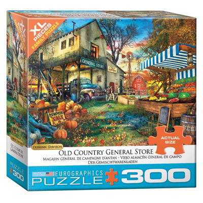 772130-Eurographics Old Country General Store 300 XL Pc Puzzle (8300-5565)