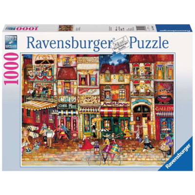 773154-Ravensburger Streets of France - 1000 Pc Puzzle