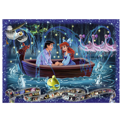 773269-Ravensburger Disney Collector's Edition Little Mermaid 1000 Piece Puzzle