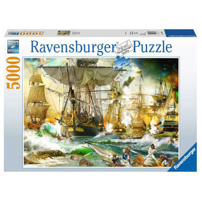 773320-Ravensburger Battle on the High Seas - 5000 PC Puzzle