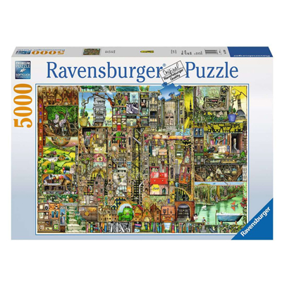 773340-Ravensburger Colin Thompson: Bizarre Town - 5000pc Puzzle (
