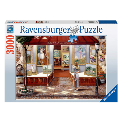 773387-Ravensburger Gallery of Fine Arts 3000 Piece Puzzle